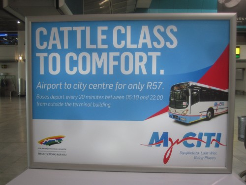 Cape Town Myciti   Click for larger images...